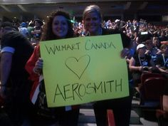 Canada loves Aerosmith! As you can tell by our groupies!