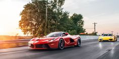 Ferrari LaFerrari & Porsche 918 Spyder: The Real World Test  - RoadandTrack.com