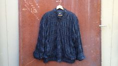 vintage bubble jacket // street fashion //  by Nash Vintage Collective on Etsy
