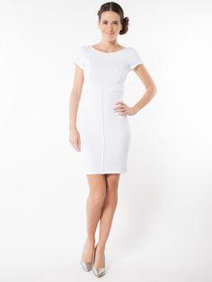 Robe blanche chic