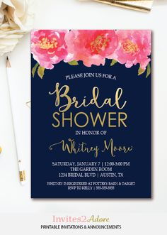 acdb6a902012 42 Best BRIDAL SHOWER INVITATIONS images in 2019