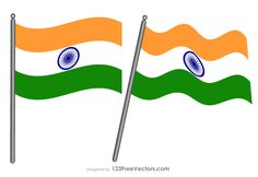 Indian Flag Images Indian Flag Pic, Indian Flag Images, Vector Free Download, Free Vector Art, Flag Colors, Republic Day, Independence Day, Art Images