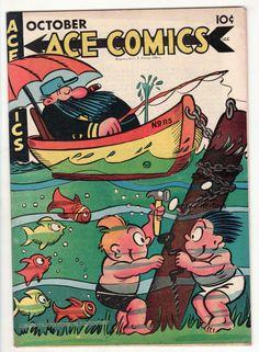 Vintage ACE Comic Book 112 Golden Age 1946 The Phantom Jungle Jim Blondie Teddy