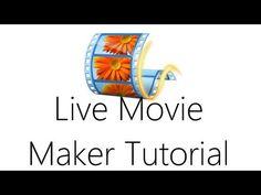 ▶ Windows Live Movie Maker Video Editing Tutorial - YouTube