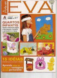Artesanato com amor...by Lu Guimarães: Revista Arte em EVA n 19