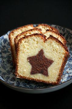 Préparer Noël : un cake étoilé posted by L'Art de la Curiosité
