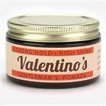 Valentino's Strong Hold High Shine Pomade - Now available at theGreaseShop.com