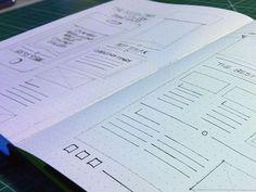 30 Great Examples of Web Design Sketches - Designbeep