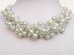 2012 corto de imitación collar de perlas joyas-Collares-Identificación del producto:536571141-spanish.alibaba.com