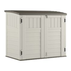 Suncast Storage, Tool & Garden Shed Resin Outdoor Storage Shed Backyard Storage Sheds, Shed Storage, Storage Spaces, Locker Storage, Extra Storage, Suncast Storage Shed, Storage Ideas, Patio Storage, Storage Systems