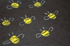 Thumbprint Bees