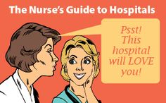 5 Big City Workplaces Nurses Love! #CityLife #Nurses #Hospitals