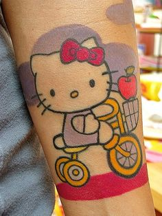 Hello Kitty Tattoo  ilovetattos.com