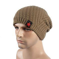 Unisex Fashion Winter Hat Slouch Skull Cap Knit Hat