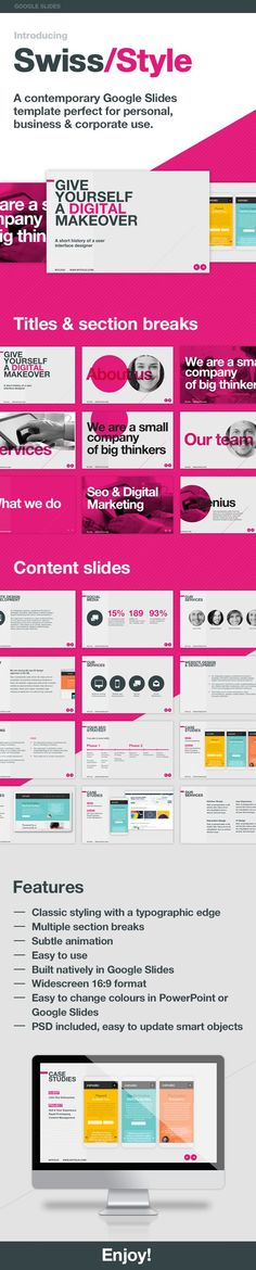 Mod Presentation Template for Business (PowerPoint Templates - presentation skills ppt