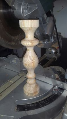 woodworking Lathe Work Candlestick