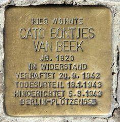 Cato Bontjes van Beek (November 14, 1920 - August 05, 1943)