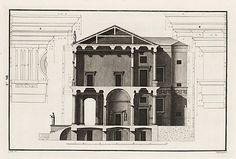 Palazzo Chiericati sezione Bertotti Scamozzi 1776 - Palazzo Chiericati - Wikipedia, the free encyclopedia