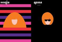Sonia/Anna, Paris vs New York - Vahram Muratyan