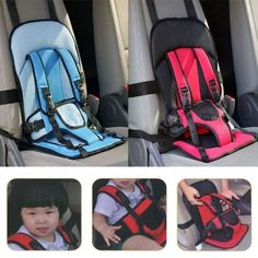 Holiday baby keeper Seat,Portable Safety Booster Seat .Dark Pink