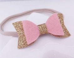 ELEGIR uno / 30 colores Mini arco fieltro lana por mellybeebows
