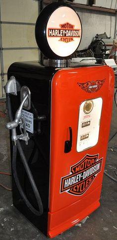 @HarleyDavidson ♥ #GasPump #Fuel #Motorcycle @HarleyDavidsonNation
