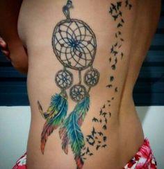 dreamcatcher tattoos 34
