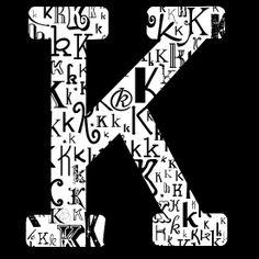 473 Best K Is For Kirsten Images In 2019 Letter K Lyrics Initials