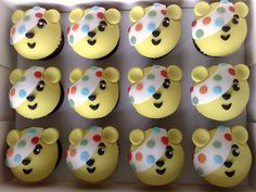 """""""Children In Need""""....Pudsey Cupcakes 