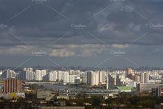 City. Autumn. Moscow. by Wonderful World on @creativemarket