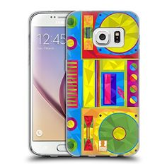 Head Case Designs Boombox Geometric Gadgets Soft Gel Case for Samsung Galaxy S7 ** Check out this great product. (Note:Amazon affiliate link)