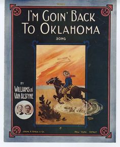 I'm Going Back To Oklahoma...and we did!