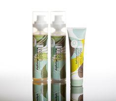 Kusco-Murphy Olive Leaf Extract Haircare Range designed by Sugarfree Design