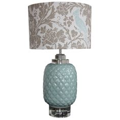 Pineapple Table Lamp l Eco Chic Table Lamps l Accent Lamps - custom lamp shade from echo chic can order Hallway Lamp, Pineapple Lamp, Custom Lamp Shades, Green Furniture, Sweet Home, House Design, Lighting, House Styles, Table Lamps