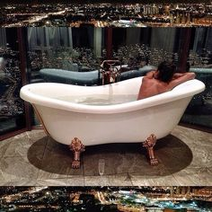 #Bath with a view ... Check more at http://sweethearts101.com
