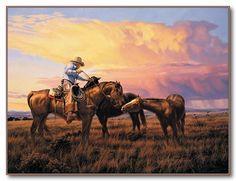 "Tim Cox - Western Art ""A Gentle Hand"""