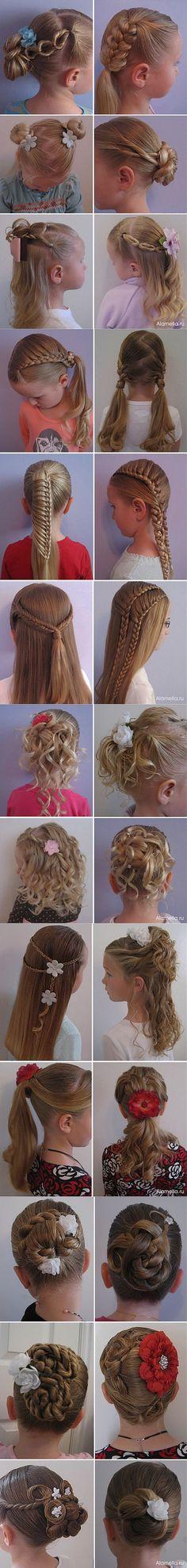 Peinados para niñas.