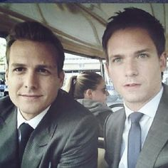 Harvey and Mike - Suits