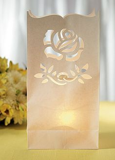 1000 Images About DIY Wedding Luminaries On Pinterest Paper Bags Table Nu