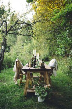 Dinner fro two. Friends. Love. August. Finnish summer. Secret garden. Maalaisparatiisi. // muita ihania
