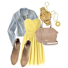 This is ideal for a day out shopping with the friends, just roll up those sleeves and voala. Sunshine, Shoe Bag, Polyvore, Stuff To Buy, Shopping, Accessories, Beautiful, Collection, Shoes