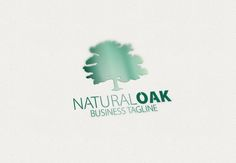 Natural Oak Logo by eSSeGraphic on Creative Market