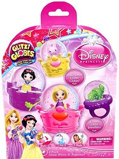 Glitzi Globes Disney Princess Theme Pack - Snow White and Rapunzel -- Visit the image link more details.