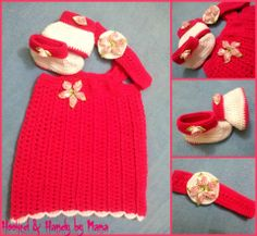 SSO8 Flower dress set