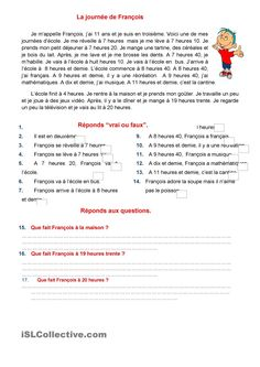 To Learn French Hairstyles French Videos For Kids Foreign Language French Flashcards, French Worksheets, French Verbs, French Grammar, French Language Lessons, French Lessons, French Teaching Resources, Teaching French, French Basics