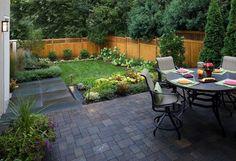 melhores idéias para um pequeno jardim 6