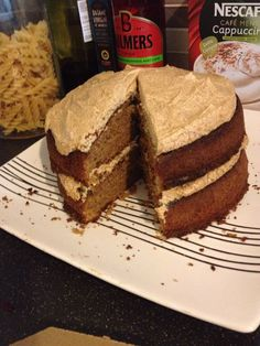 My humble but delicious coffee cake.