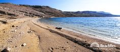 Beach Dražica - Zubovići - Island Pag - Lika - Croatia