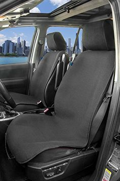 Gray EDEALYN W 20.5/× L21 PU Leather auto seat Cover Driver car seat Cover for Four-Door Sedan /& SUV/& Driver seat,1pcs