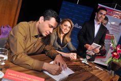 MEU FILHO no lançamento do LIVRO casamento BLINDADO com Bsp Renato e vossa esposa CRISTIANE CARDOSO...